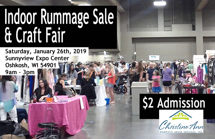 2019 Oshkosh Rummage Sale and Craft Fair